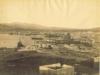 Άποψη του λιμανιού του Πειραιά στα 1885.