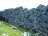 Το τείχος από εξωτερικά (δυτικό τμήμα).