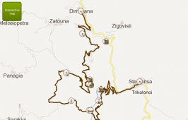 Map of trekking