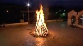 Το έθιμο της φωτιάς στην Αγία Θεοδώρα
