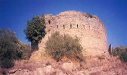 Κούλιες στο Κομπότι (τούρκικα φυλάκια)