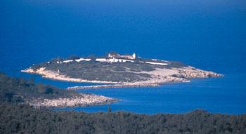 Νησάκι Παναγίας Παξοί