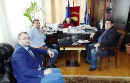 Συνάντηση Δημάρχου - Ομοσπονδίας