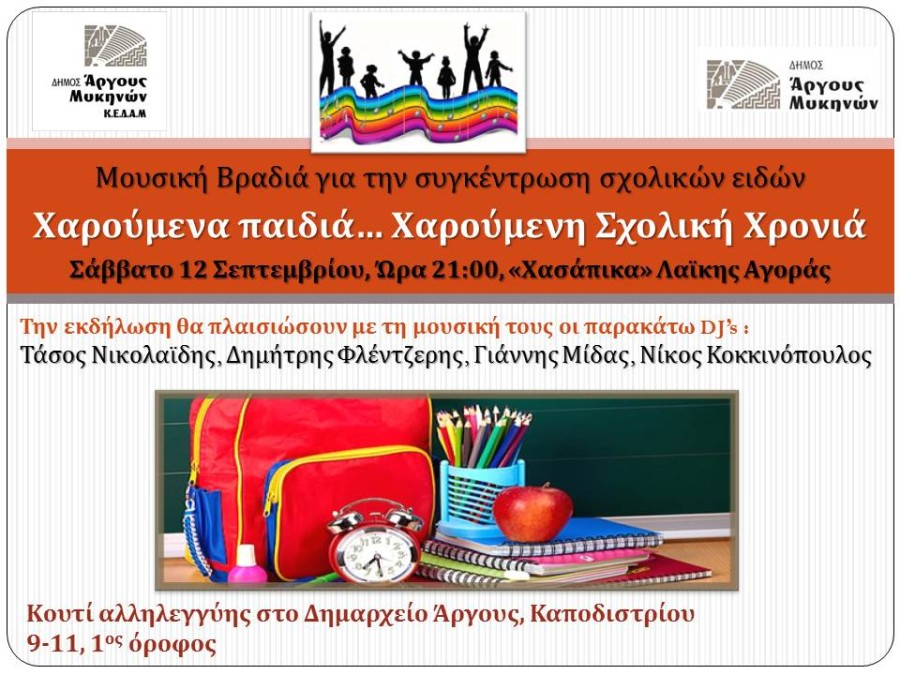 Αφίσα Σχολικά είδη Microsoft