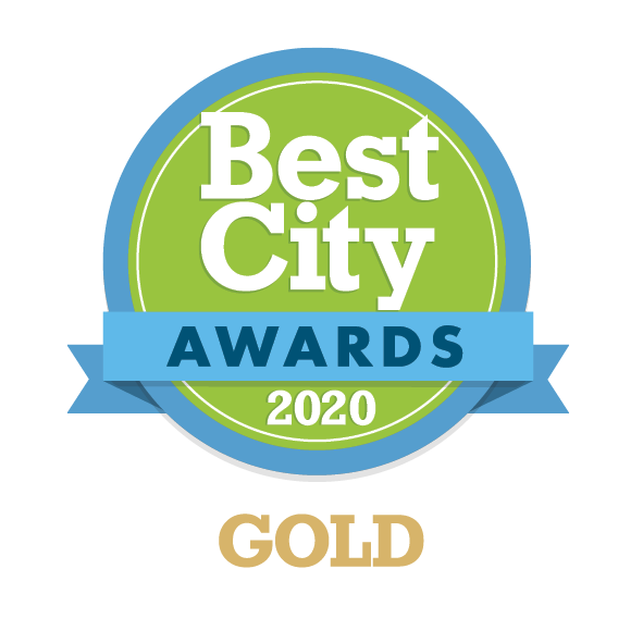 Best City Awards 2020 Gold